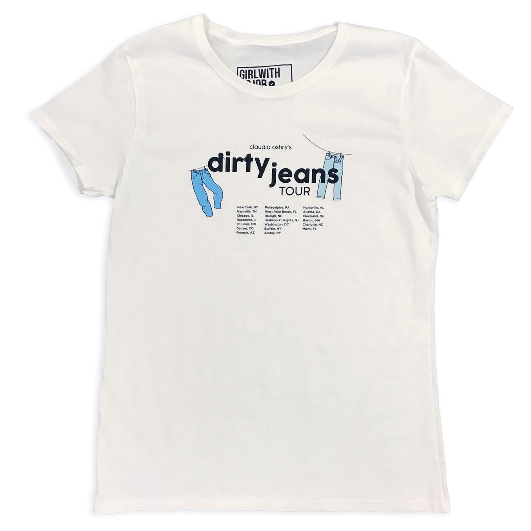 Dirty Jeans Tour Tee