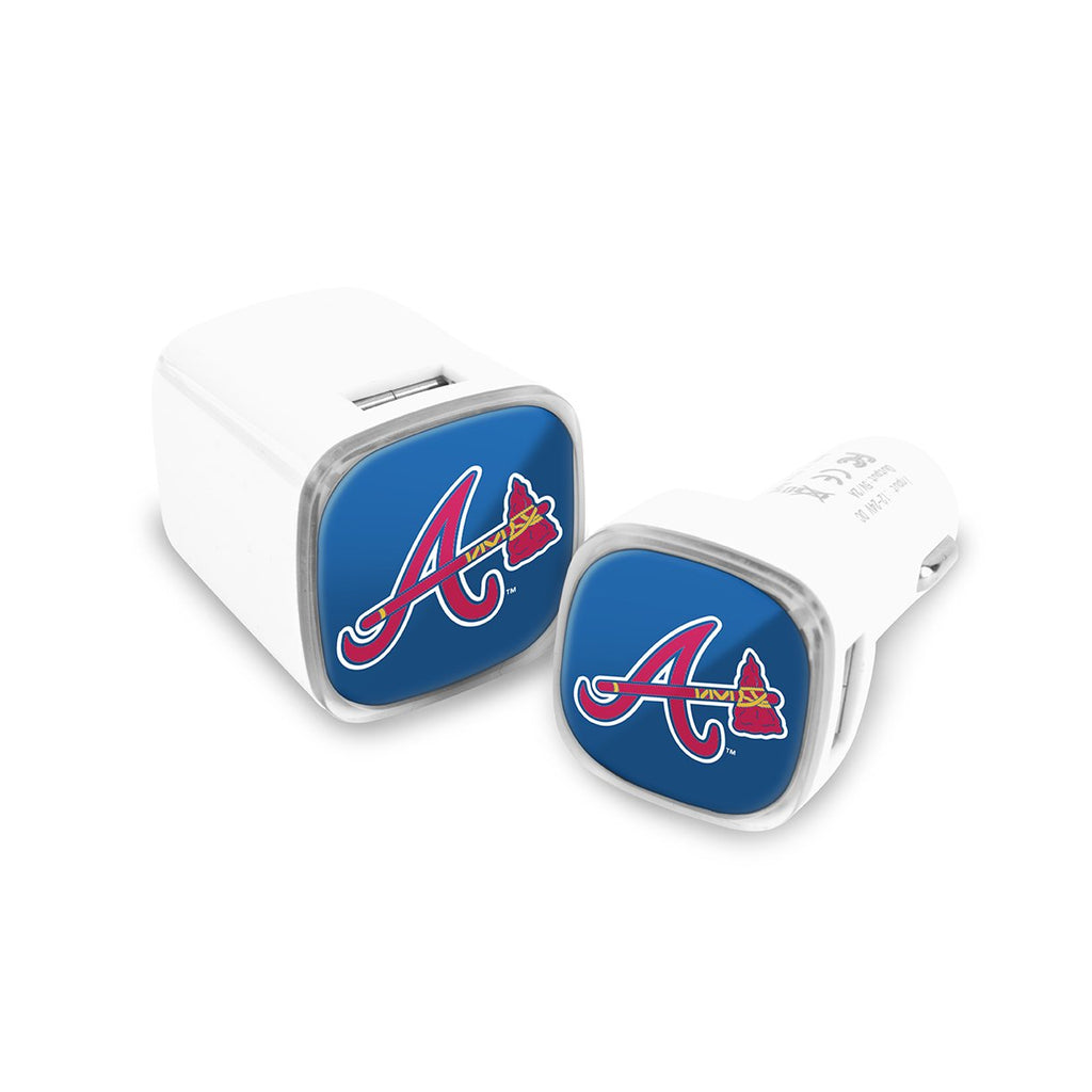 Atlanta Braves Car and Wall Chargers