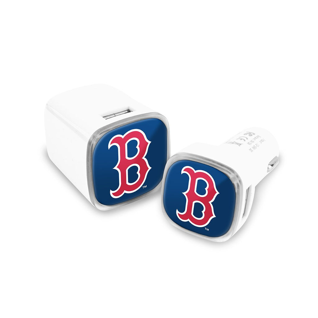 Boston Red Sox Car and Wall Chargers
