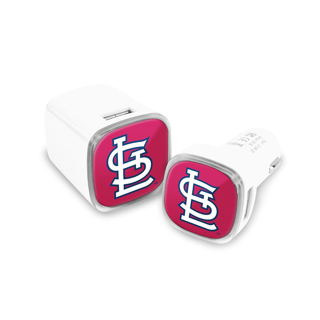St. Louis Cardinals Car and Wall Chargers