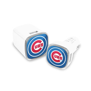 Chicago Cubs Car and Wall Chargers - Prime Brands Group