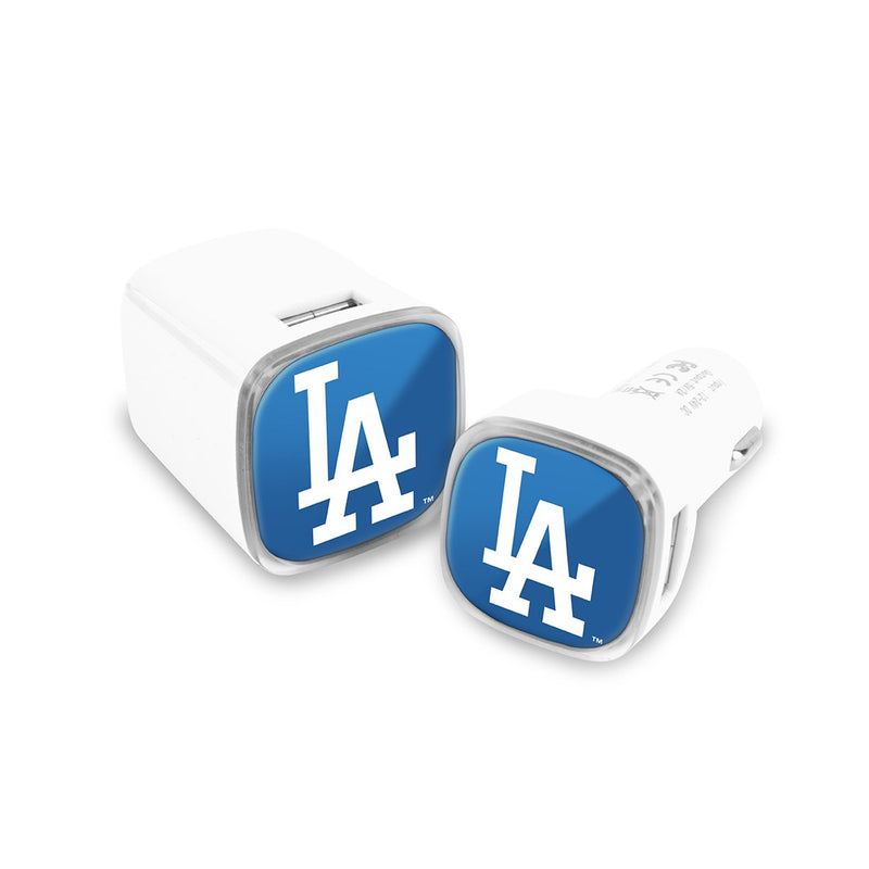 Los Angeles Dodgers Car and Wall Chargers