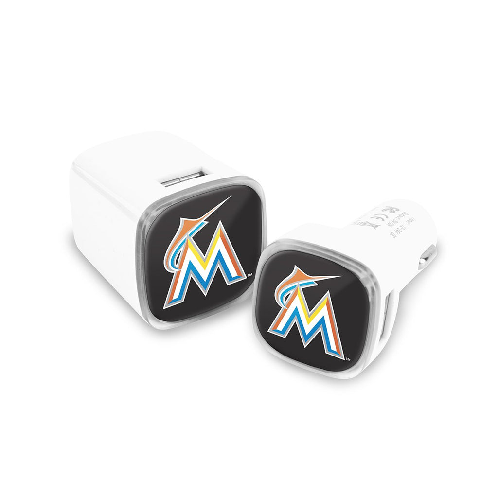Miami Marlins Car and Wall Chargers
