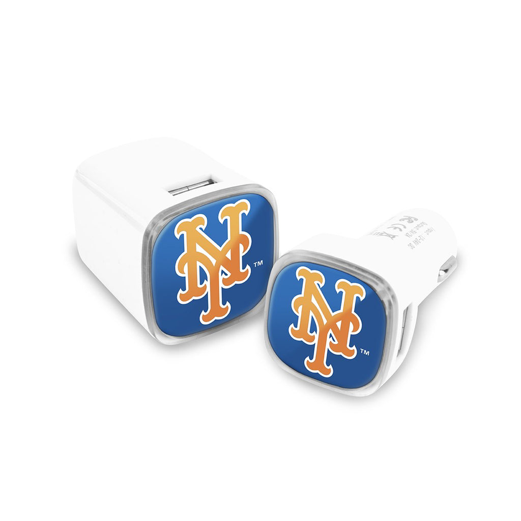 New York Mets Car and Wall Chargers