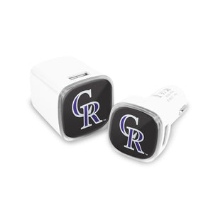 Colorado Rockies Car and Wall Chargers - Prime Brands Group