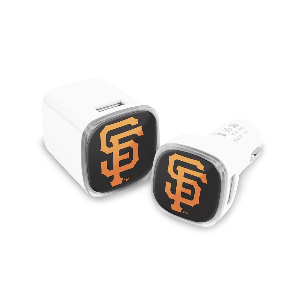 San Francisco Giants Car and Wall Chargers