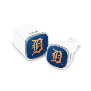 Detroit Tigers Car and Wall Chargers