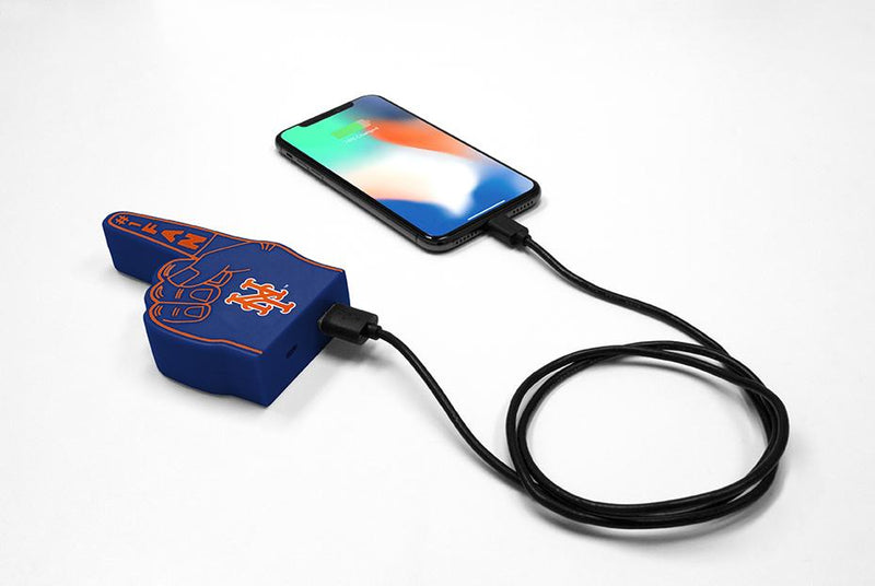 New York Mets Fan Finger Powerbank - Prime Brands Group