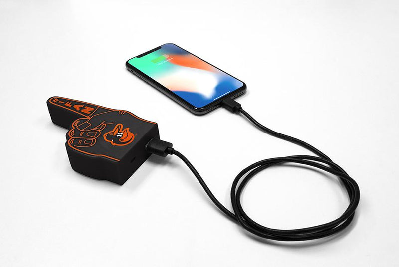 Baltimore Orioles Fan Finger Powerbank - Prime Brands Group
