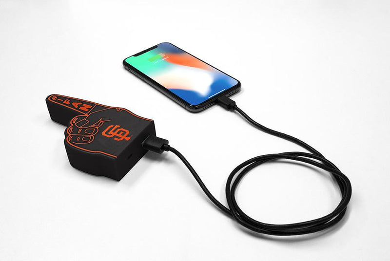San Francisco Giants Fan Finger Powerbank - Prime Brands Group