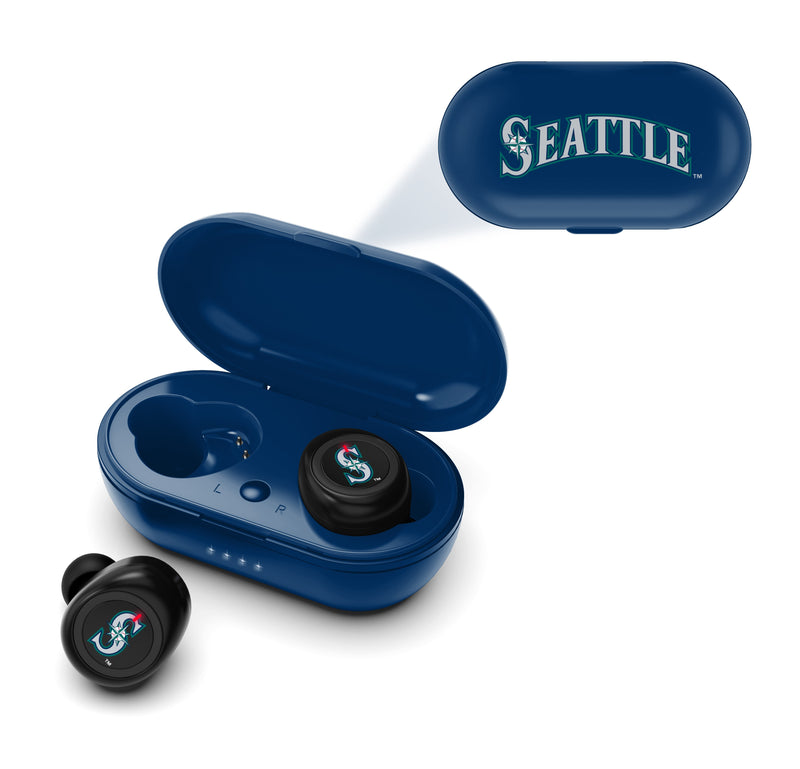 Seattle Mariners True Wireless Earbuds