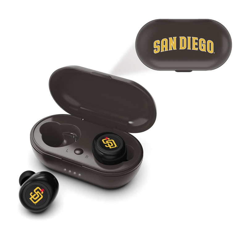 San Diego Padres True Wireless Earbuds