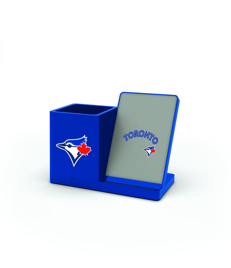 Toronto Blue Jays Wireless Charging Pen Holder - Prime Brands Group