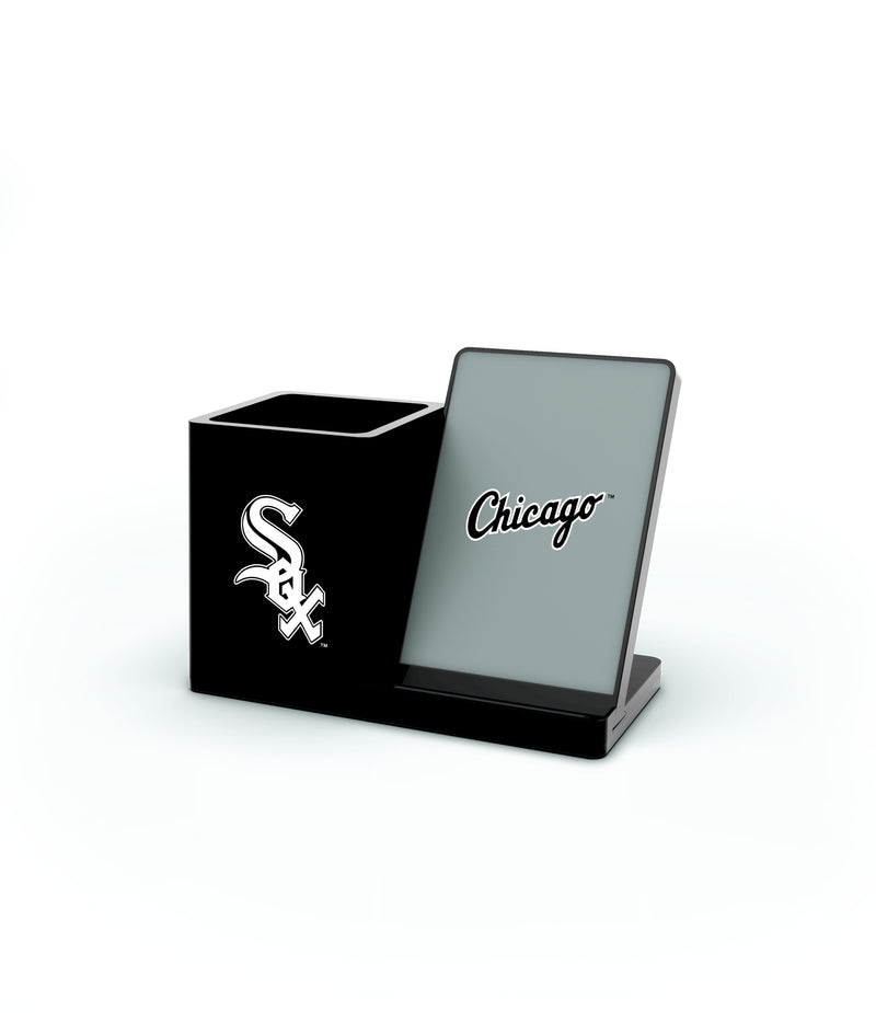 Chicago White Sox Wireless Charging Pen Holder - Prime Brands Group