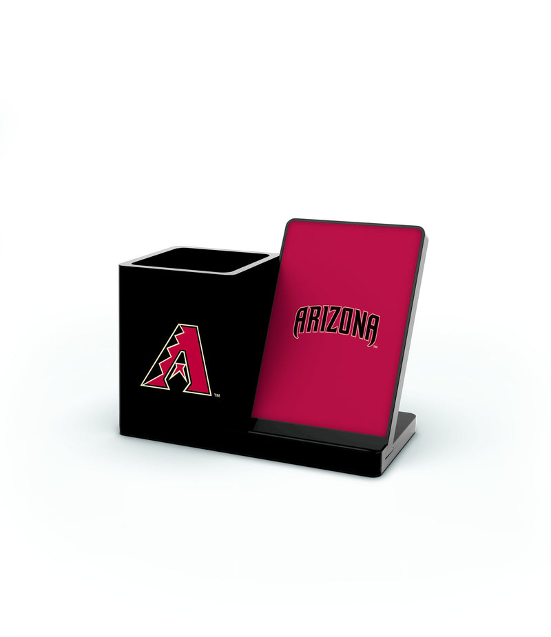 Arizona Diamondbacks Wireless Charging Pen Holder - Prime Brands Group