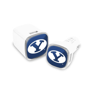 Bringham Young University Car and Wall Chargers