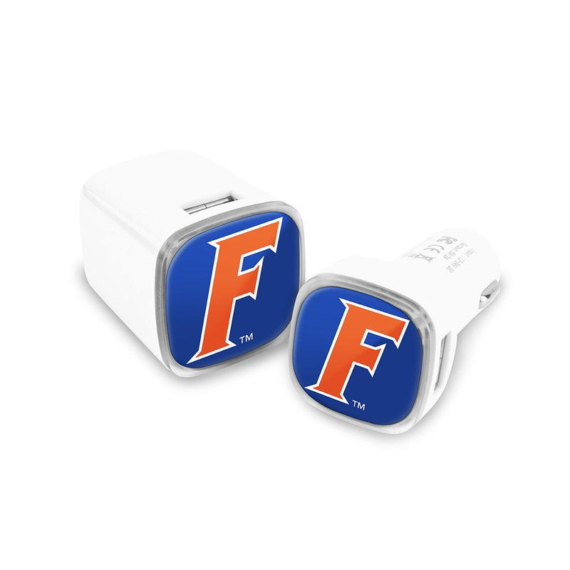 Florida Gators Car & Wall Charger 2 Pack - Prime Brands Group