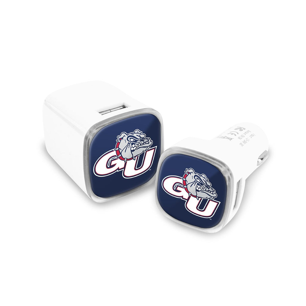 Gonzaga Bulldogs Car and Wall Chargers