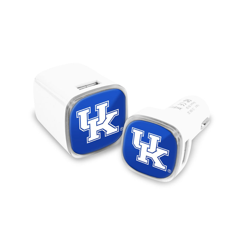 Kentucky Wildcats Car & Wall Charger 2 Pack - Prime Brands Group