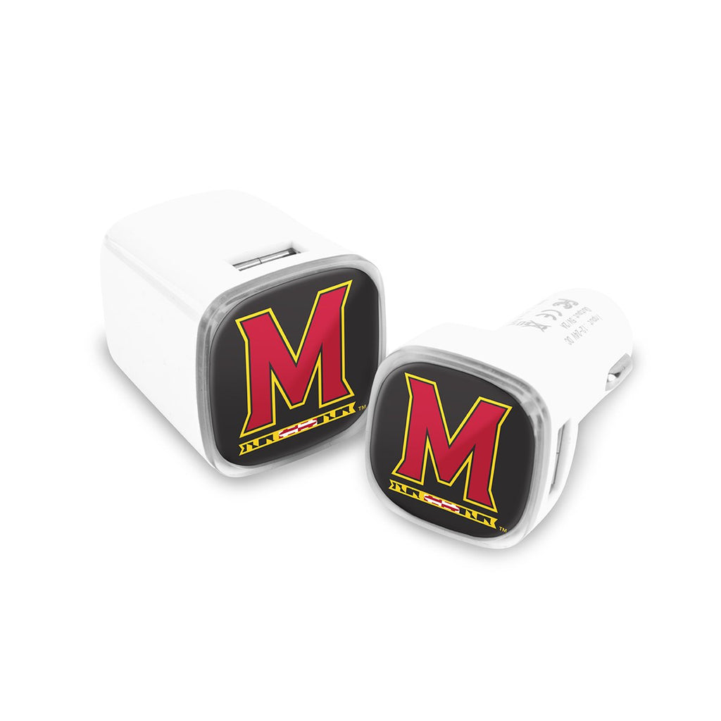 Maryland Terrapins Car and Wall Chargers