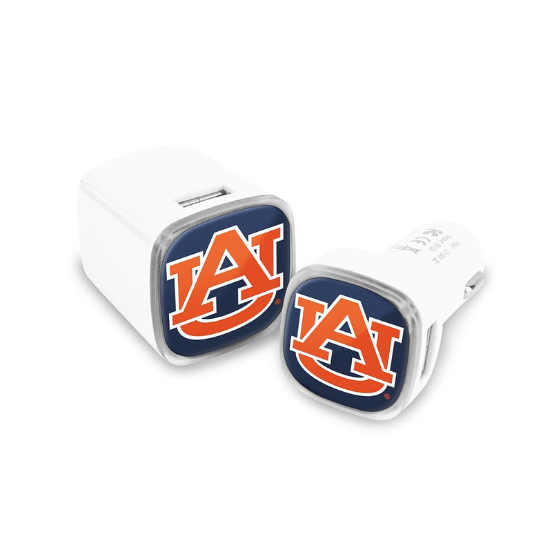 Auburn Tigers Car & Wall Charger 2 Pack - Prime Brands Group