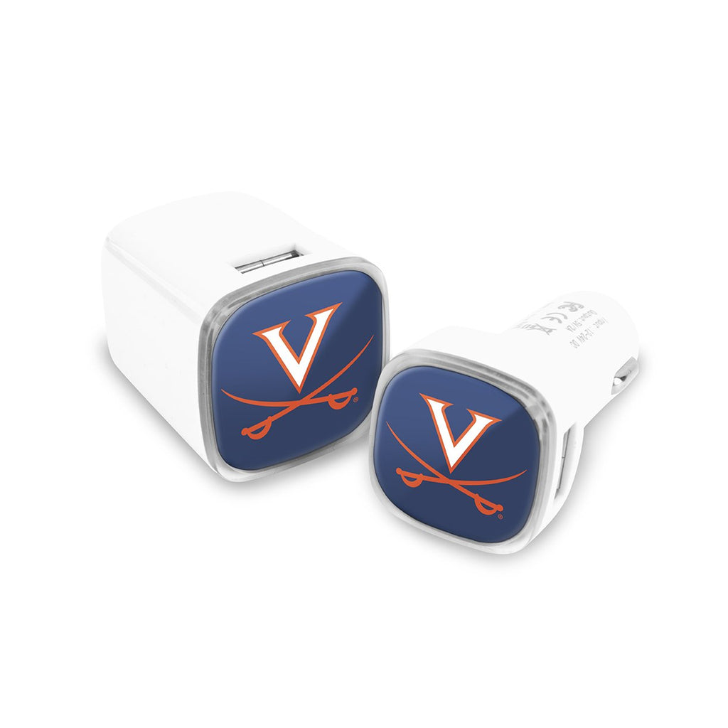 Virginia Cavaliers Car and Wall Chargers