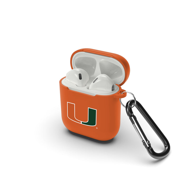 Miami Hurricanes Airpod Case