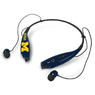 Michigan Wolverines Bluetooth Earbuds - Prime Brands Group