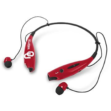 Oklahoma Sooners Bluetooth Earbuds - Prime Brands Group
