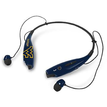 West Virginia Mountaineers Bluetooth Earbuds - Prime Brands Group