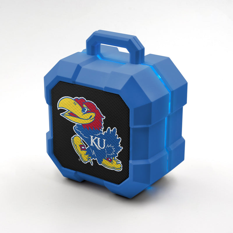Kansas Jayhawks ShockBox LED Speaker - Prime Brands Group