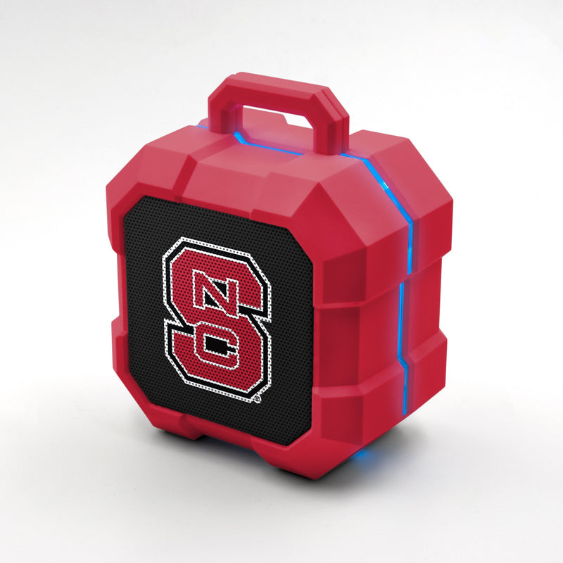N.C State Wolfpack ShockBox LED Speaker - Prime Brands Group