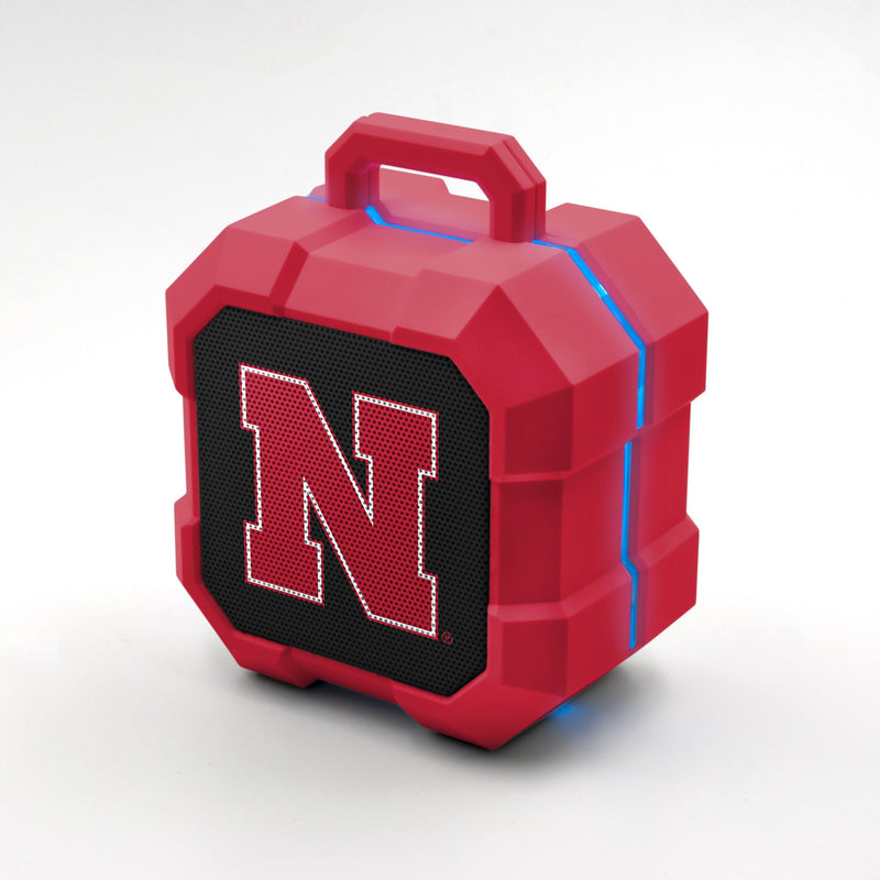 Nebraska Cornhuskers ShockBox LED Speaker - Prime Brands Group
