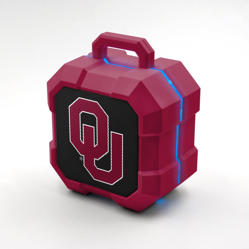 Oklahoma Sooners ShockBox LED Speaker - Prime Brands Group