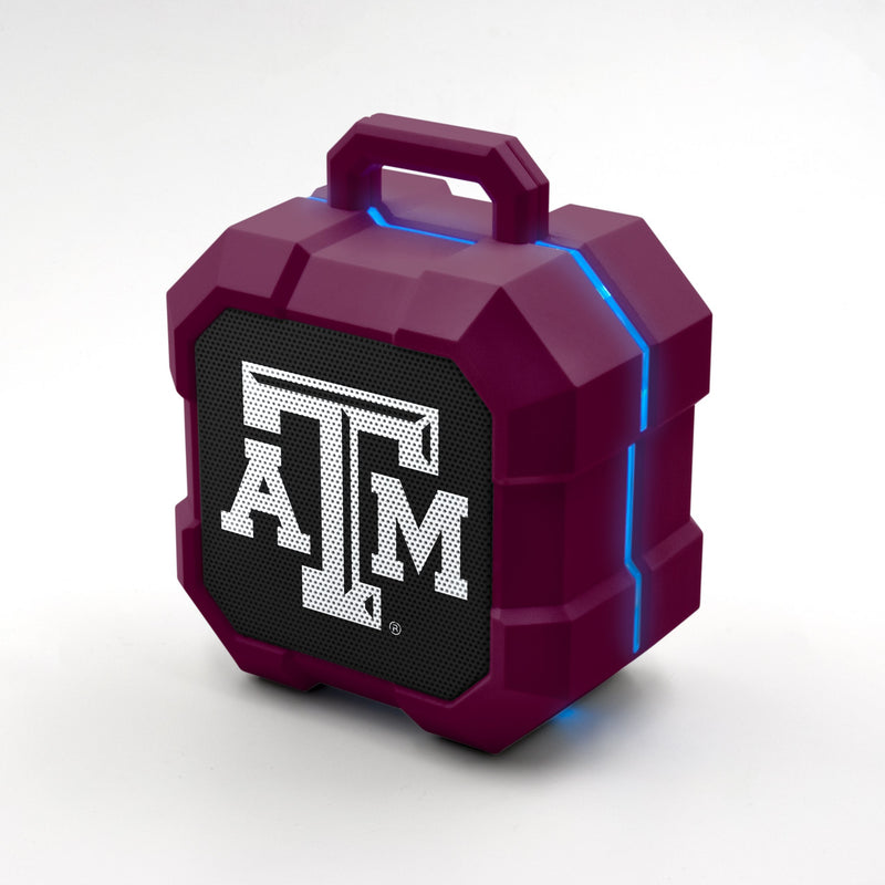 Texas A&M Aggies ShockBox LED Speaker - Prime Brands Group