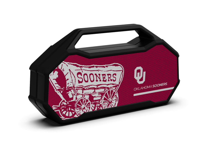 Oklahoma Sooners Shockbox XL Speaker - Prime Brands Group
