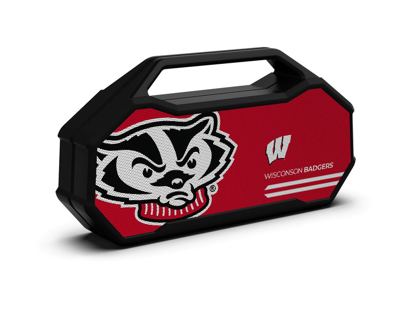 Wisconsin Badgers Shockbox XL Speaker - Prime Brands Group