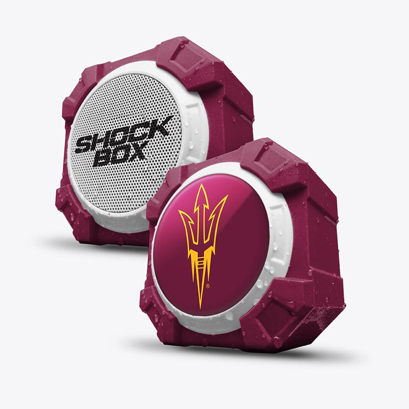 Arizona State Sun Devils ShockBox Bluetooth Speaker - Prime Brands Group