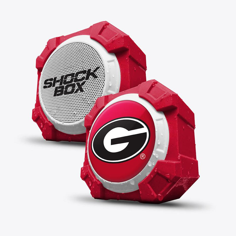 Georgia Bulldogs ShockBox Bluetooth Speaker - Prime Brands Group