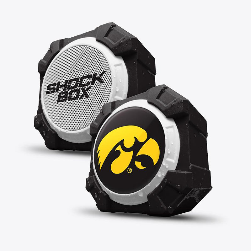 Iowa Hawkeyes ShockBox Bluetooth Speaker - Prime Brands Group