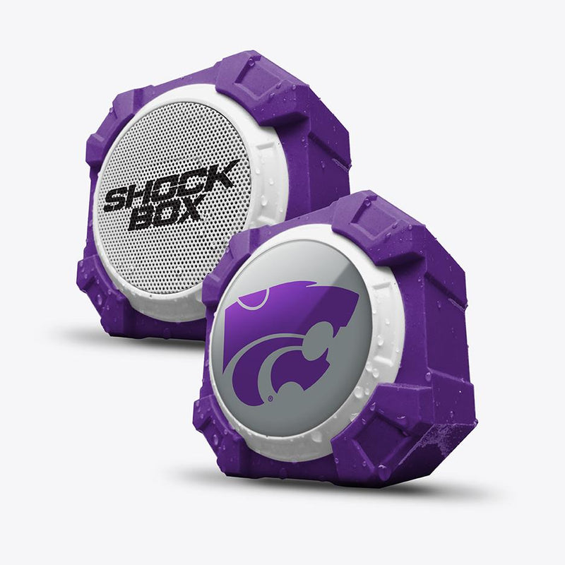 Kansas State Wildcats ShockBox Bluetooth Speaker - Prime Brands Group