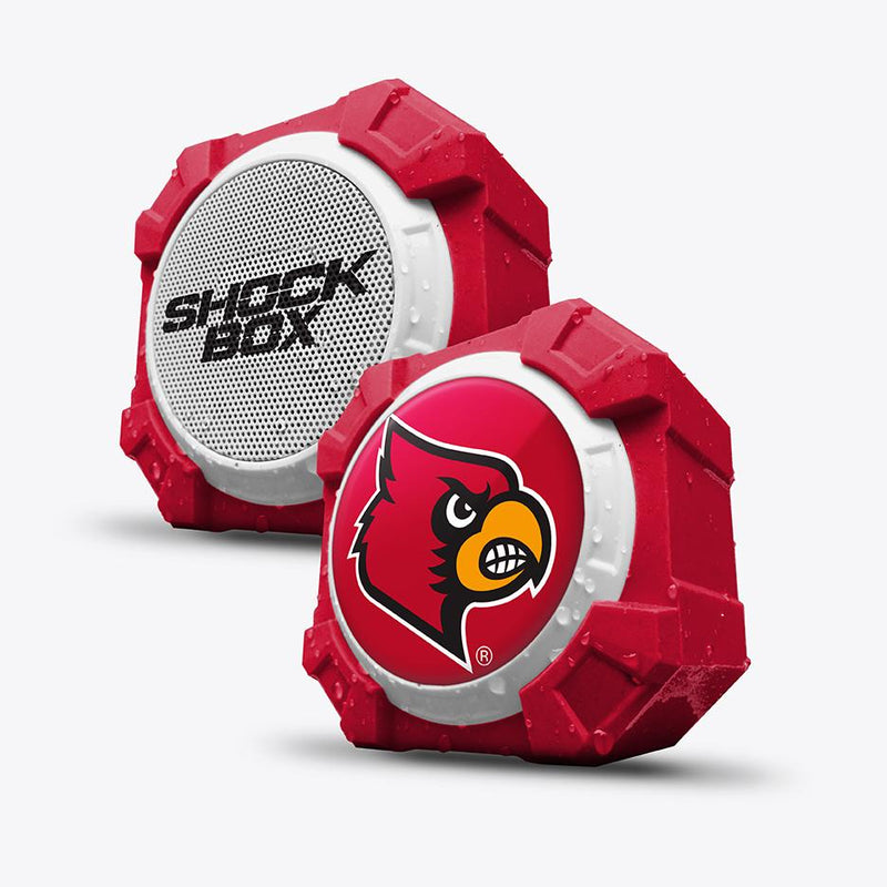 Louisville Cardinals ShockBox Bluetooth Speaker - Prime Brands Group