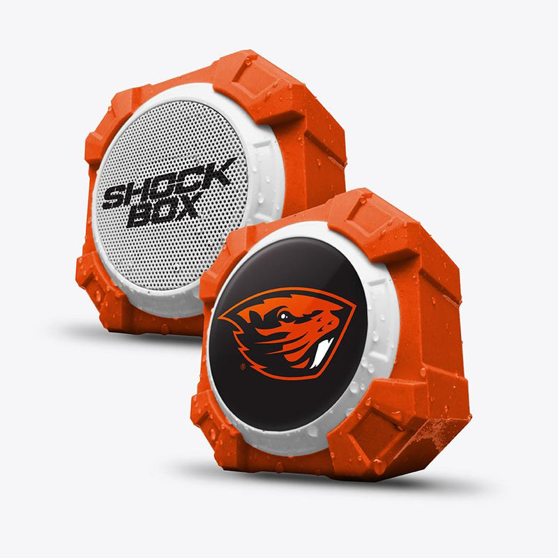 Oregon State Beavers ShockBox Bluetooth Speaker - Prime Brands Group