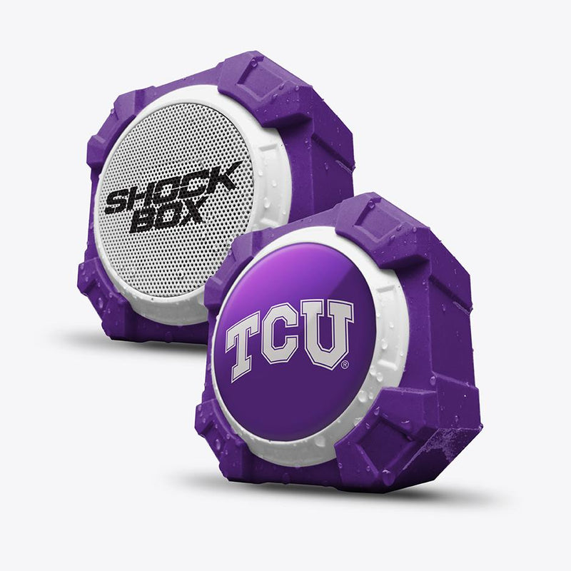 TCU Horned Frogs ShockBox Bluetooth Speaker - Prime Brands Group