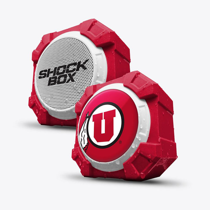Utah Utes ShockBox Bluetooth Speaker - Prime Brands Group
