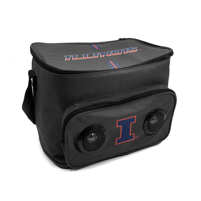 Illinois Fighting Illini Bluetooth Speaker Cooler Bag
