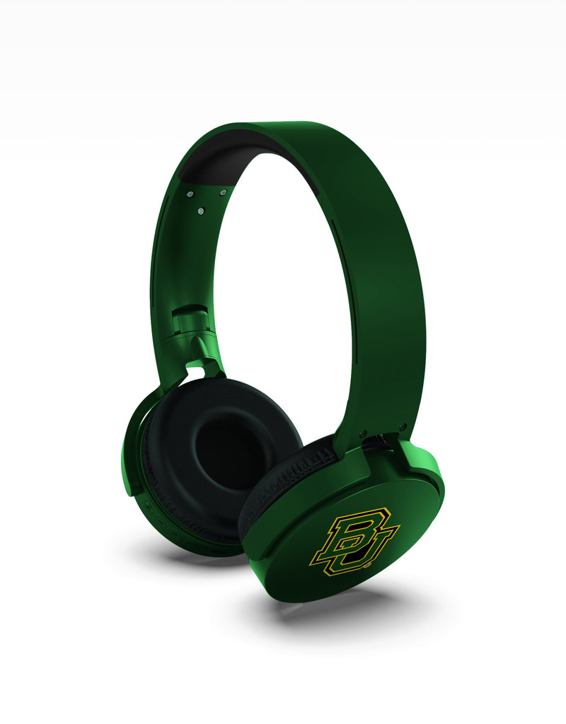 Baylor Bears Wireless DJ Headphones - Prime Brands Group