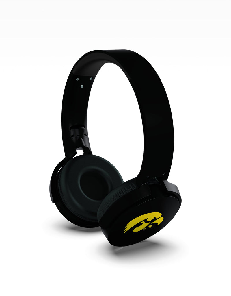 Iowa Hawkeyes Wireless DJ Headphones - Prime Brands Group