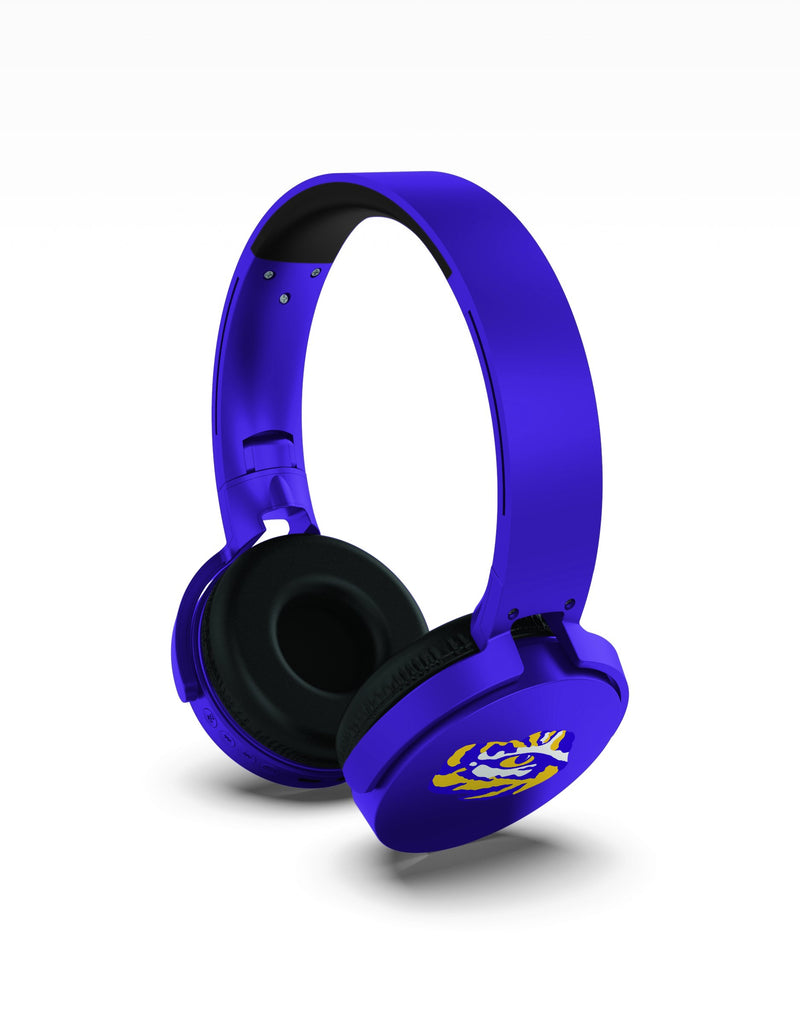 LSU Tigers Wireless DJ Headphones - Prime Brands Group