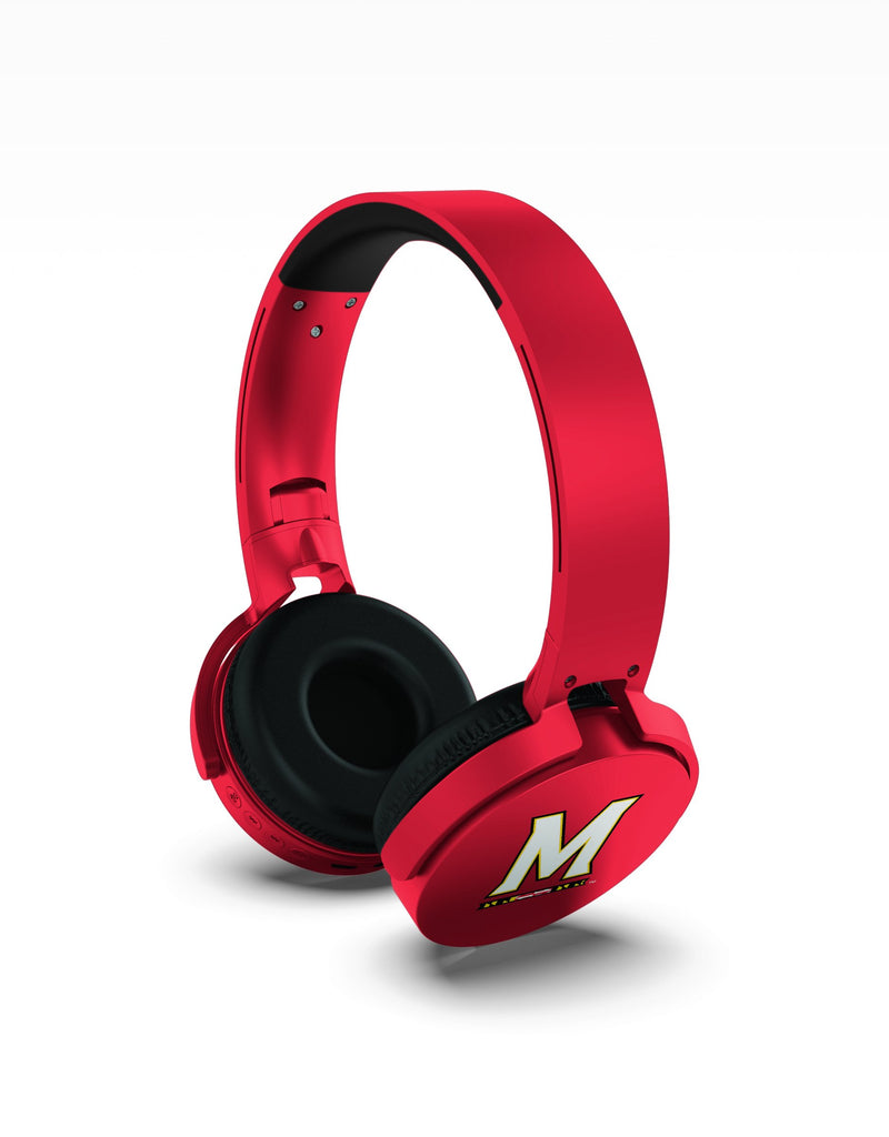 Maryland Terrapins Wireless DJ Headphones - Prime Brands Group